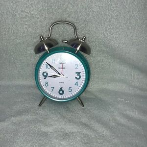 Blue small clock